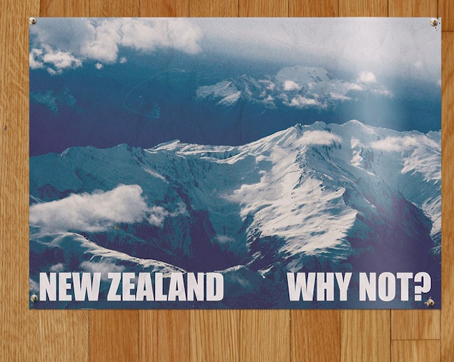 news zealand tourist posters All of Murrays New Zealand Tourism posters from Flight of the Conchords