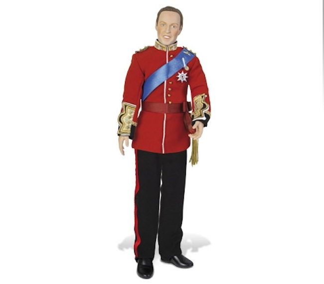 prince william love doll The Prince William love doll looks not enough like the man
