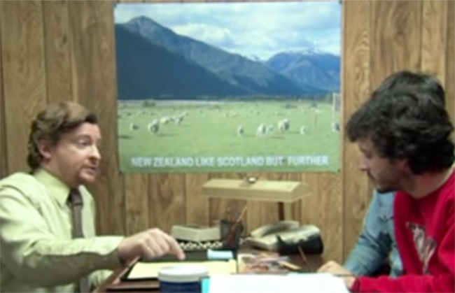 tumblr lzt9fhZtbK1rokmflo1 500 All of Murrays New Zealand Tourism posters from Flight of the Conchords