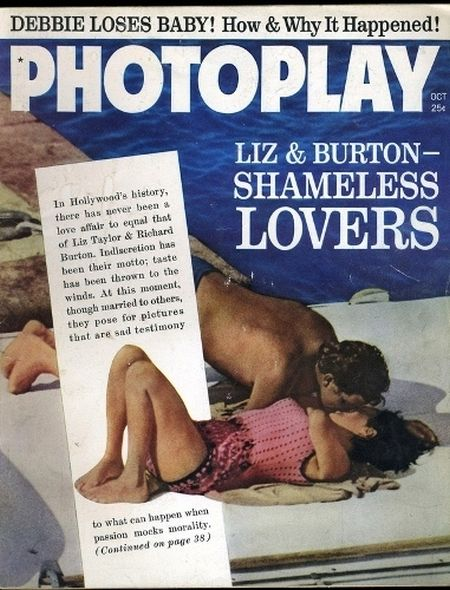1962 1 Elizabeth Taylor and Richard Burtons love story told in magazine covers