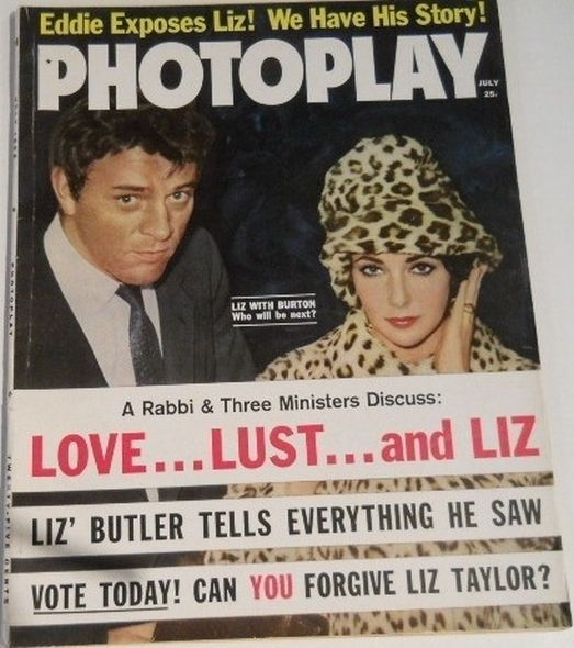 1962 Elizabeth Taylor and Richard Burtons love story told in magazine covers