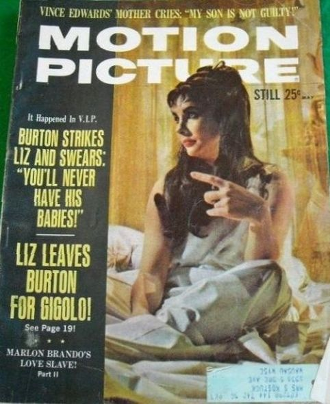 1963 1 Elizabeth Taylor and Richard Burtons love story told in magazine covers