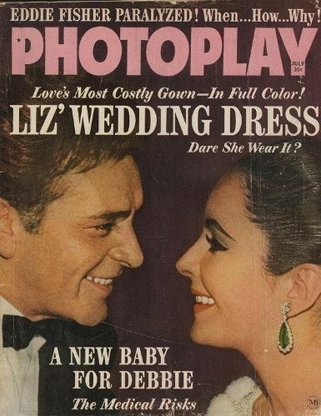 1963 2 Elizabeth Taylor and Richard Burtons love story told in magazine covers