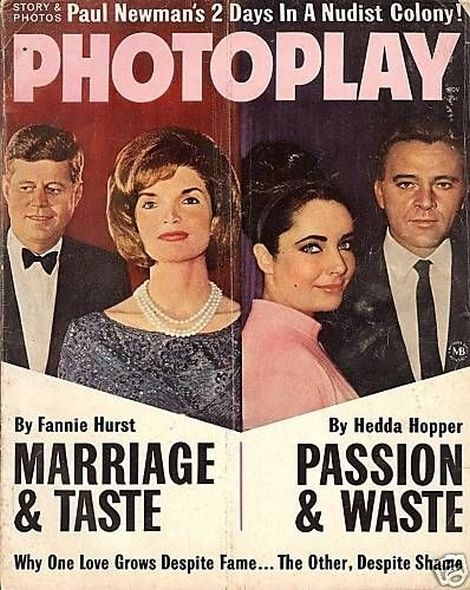 1963 6 Elizabeth Taylor and Richard Burtons love story told in magazine covers