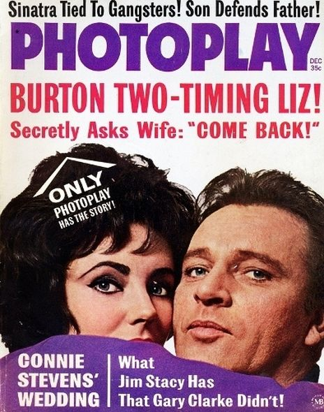1963 8 Elizabeth Taylor and Richard Burtons love story told in magazine covers