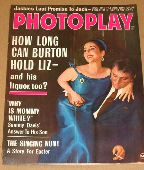 1964 1 Elizabeth Taylor and Richard Burtons love story told in magazine covers