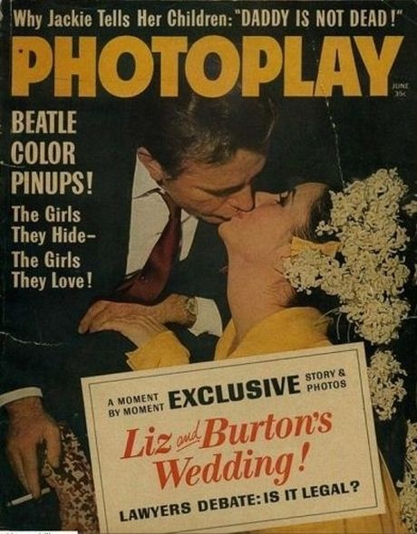 1964 2 Elizabeth Taylor and Richard Burtons love story told in magazine covers