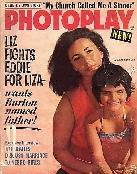 1964 3 Elizabeth Taylor and Richard Burtons love story told in magazine covers