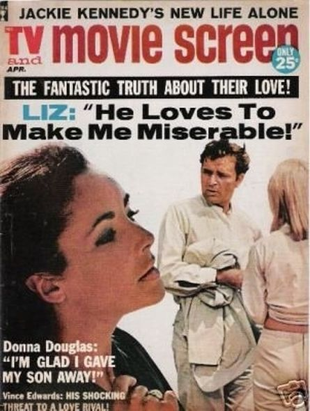 1964 Elizabeth Taylor and Richard Burtons love story told in magazine covers