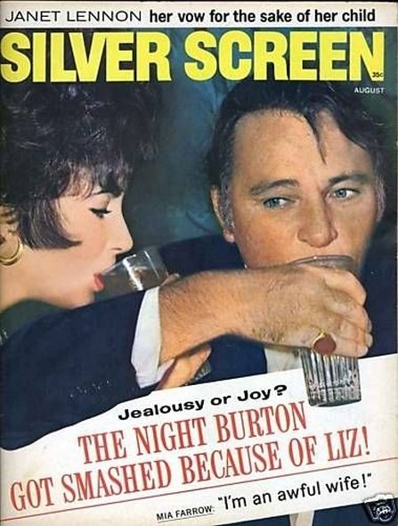 1967 1 Elizabeth Taylor and Richard Burtons love story told in magazine covers