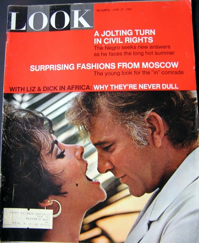 1967 7 Elizabeth Taylor and Richard Burtons love story told in magazine covers