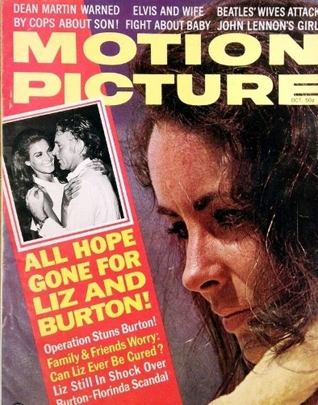 1968 1 Elizabeth Taylor and Richard Burtons love story told in magazine covers