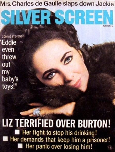1969 1 Elizabeth Taylor and Richard Burtons love story told in magazine covers