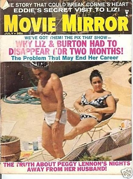 1969 Elizabeth Taylor and Richard Burtons love story told in magazine covers