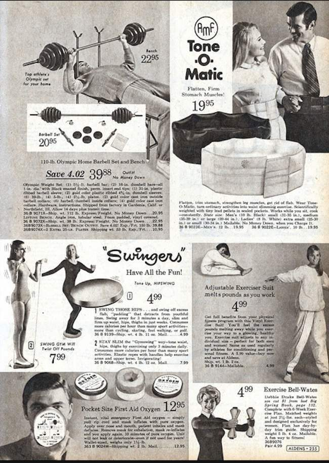 1970s keep fit 2 The greatest keep fit devices of the 1970s