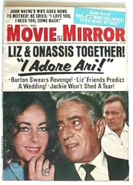 1973 1 Elizabeth Taylor and Richard Burtons love story told in magazine covers