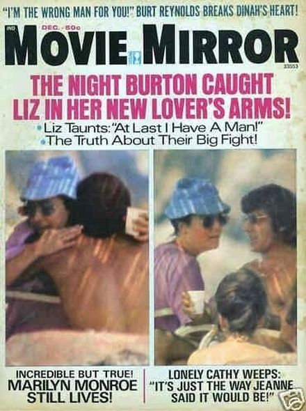 1973 2 Elizabeth Taylor and Richard Burtons love story told in magazine covers