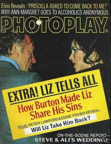 1973 Elizabeth Taylor and Richard Burtons love story told in magazine covers