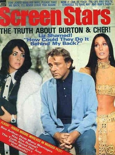 1974 1 Elizabeth Taylor and Richard Burtons love story told in magazine covers
