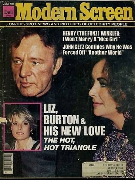 1975 1 Elizabeth Taylor and Richard Burtons love story told in magazine covers