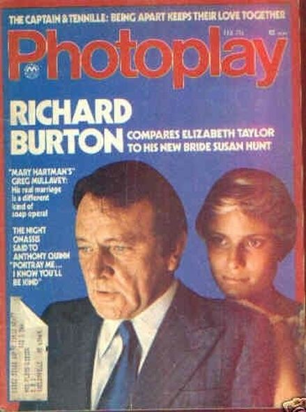 19771 Elizabeth Taylor and Richard Burtons love story told in magazine covers
