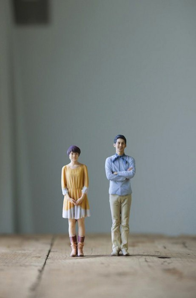Worlds first 3 D printing booth creates small action figures of you