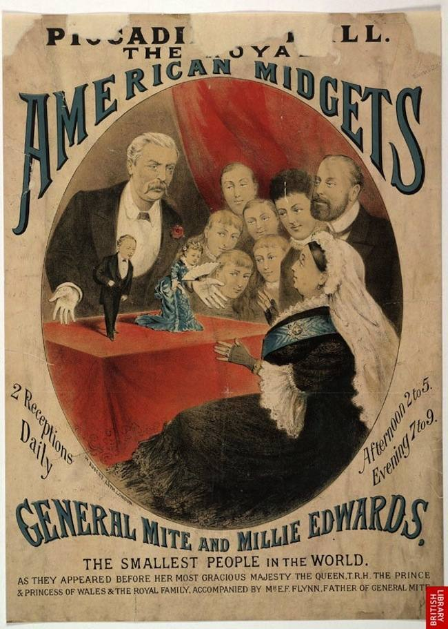 American Midgets Highlights from the Victorian circus freak show (posters)