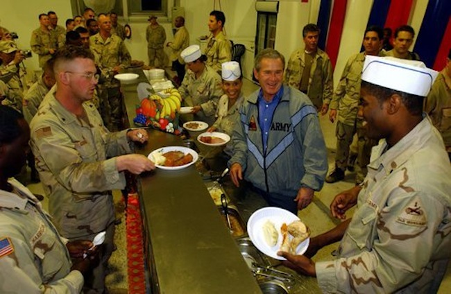 Bushserves The George Bush fake Turkey story rides again