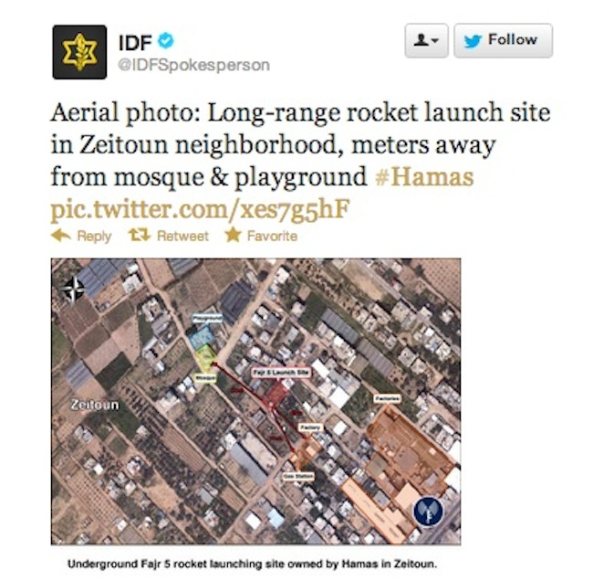 IDF tweet Israel v Hamas: we all know who started it (photos)