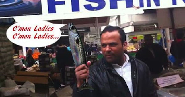 Muhammad Shahid Nazir1 Will Muhammad Shahid Nazir, 31, aka £1 Fish Man, deliver the Christmas Number 1?