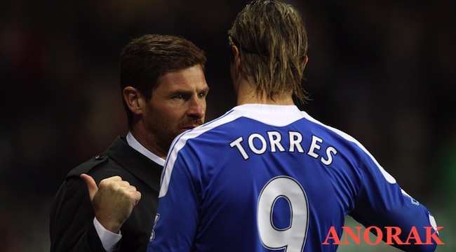 PA 12644885 Andre Villas Boas was terminated at Chelsea