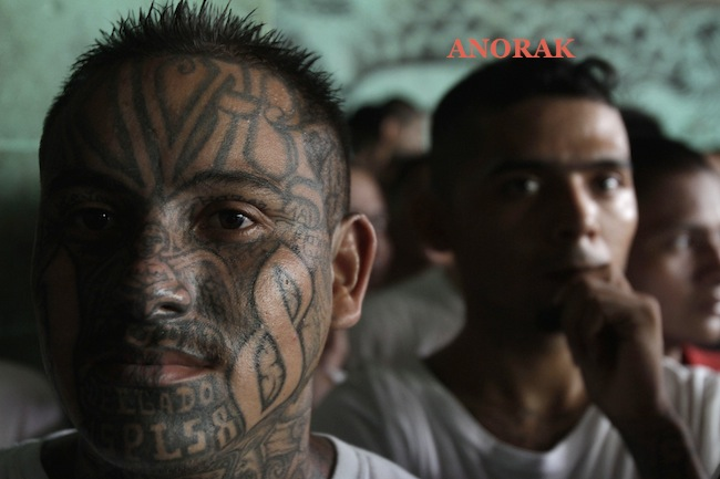 PA 13437521 In photos: the tattooed faces of MS 13 and 18th Street gang members