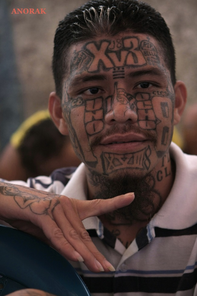 PA 14511237 In photos: the tattooed faces of MS 13 and 18th Street gang members