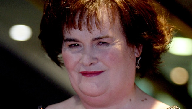 PA 15180468 Susan Boyle album tweets as #susanalbumparty