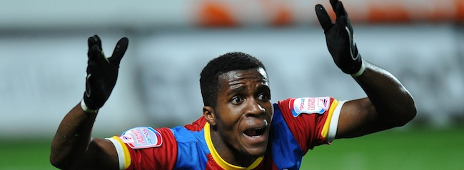 PA 15231290 Arsenal sign Wilfried Zaha in etiquette masterclass 