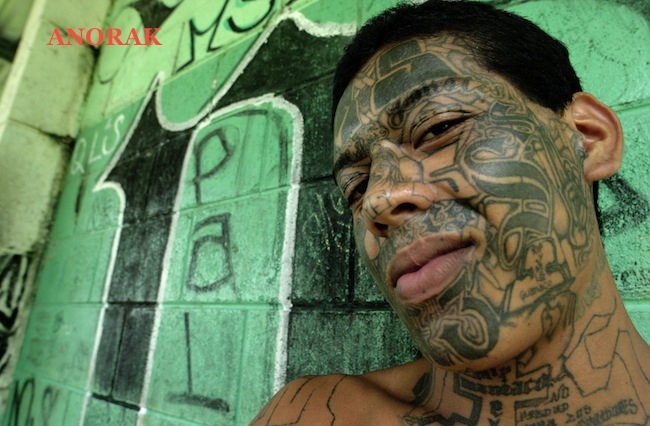 PA 2461511 In photos: the tattooed faces of MS 13 and 18th Street gang members