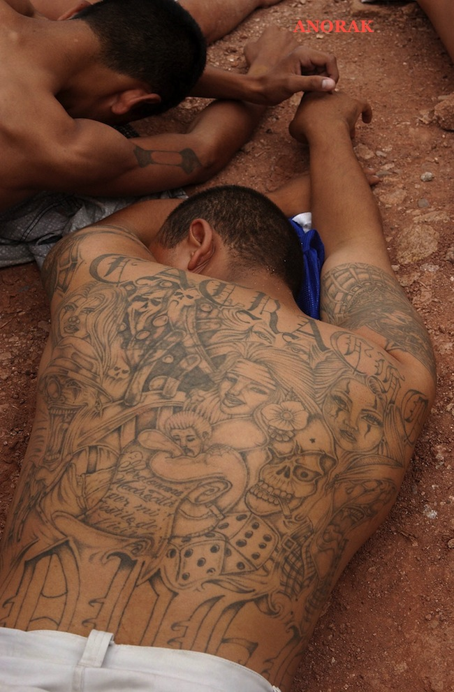 PA 2521488 In photos: the tattooed faces of MS 13 and 18th Street gang members