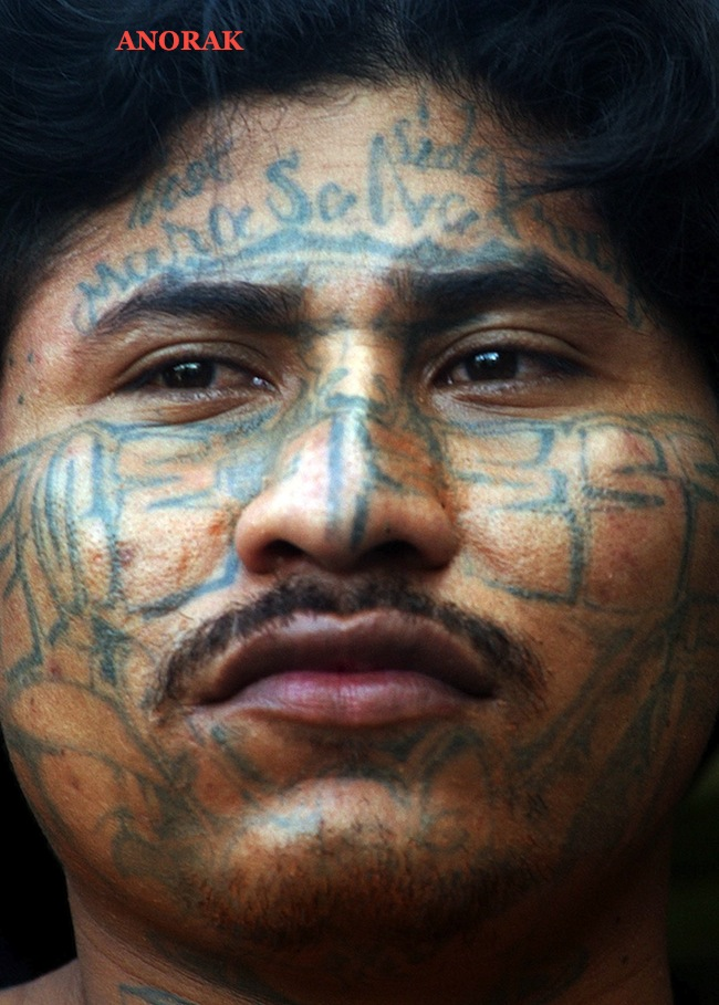 PA 2521489 In photos: the tattooed faces of MS 13 and 18th Street gang members
