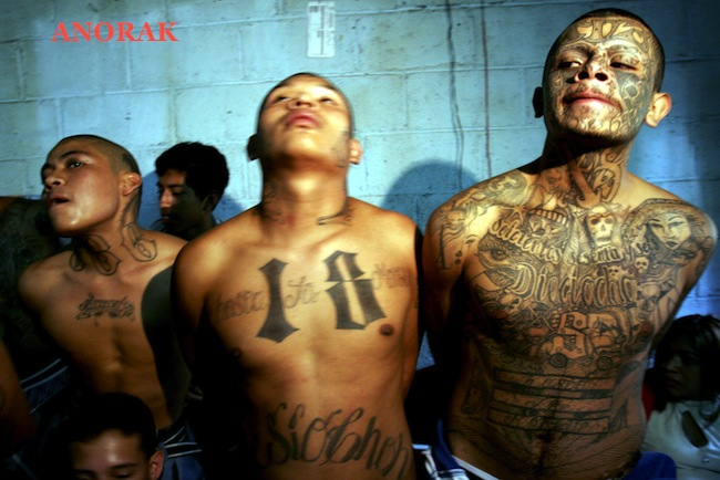PA 2599966 In photos: the tattooed faces of MS 13 and 18th Street gang members