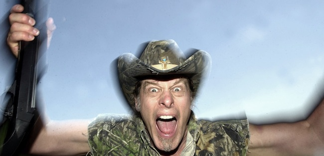 PA 4308254 You only vote Obama because you wanted Ted Nugent dead or jailed