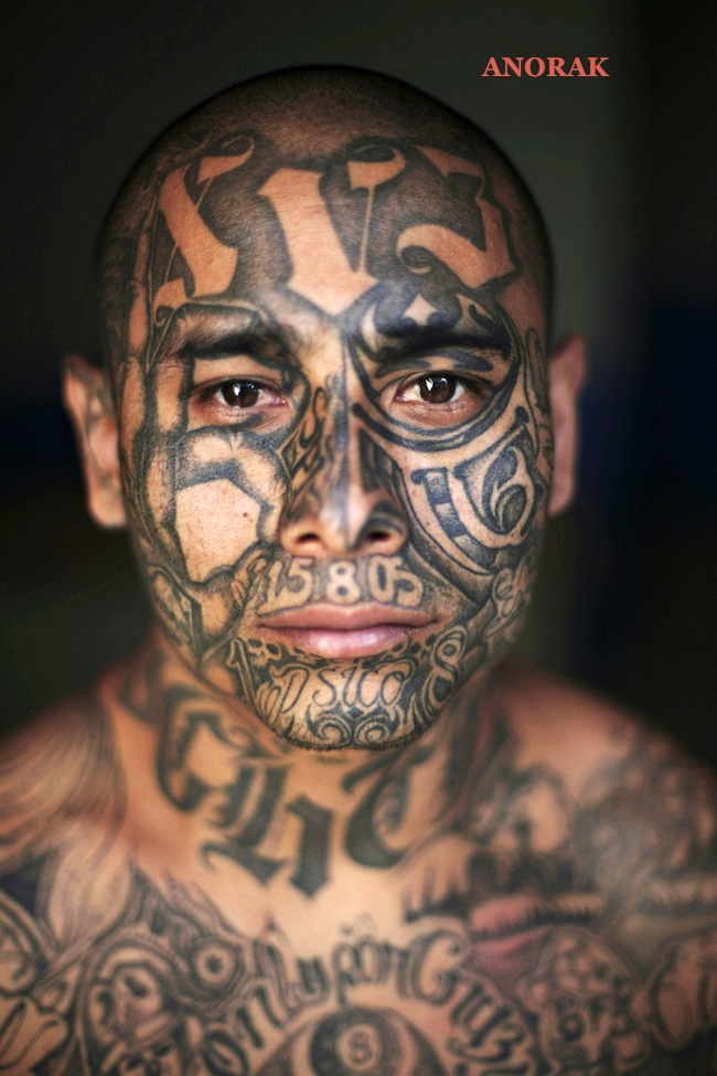 PA 5443498 In photos: the tattooed faces of MS 13 and 18th Street gang members