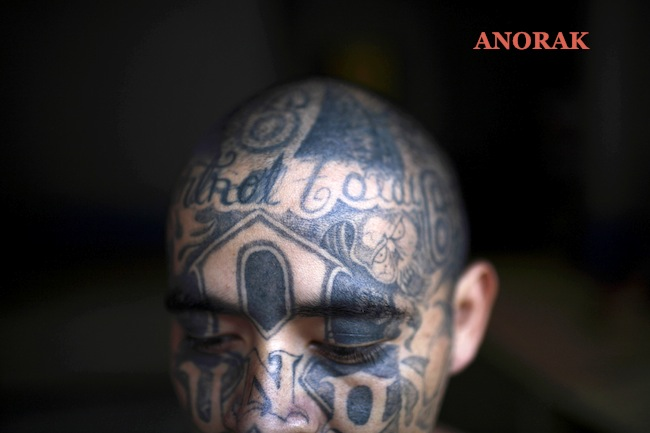 PA 5443509 In photos: the tattooed faces of MS 13 and 18th Street gang members