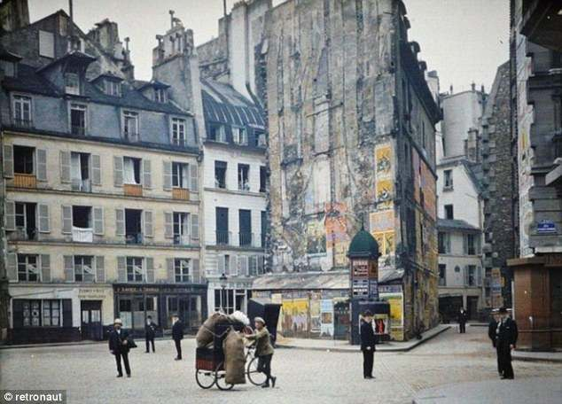 PAris 1914 1 Paris 1914: colour photographs