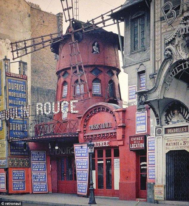 PAris 1914 Paris 1914: colour photographs