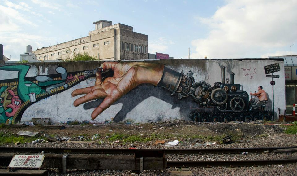 Great street art of 2012