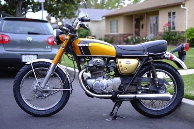 bike ad craigslist The greatest motorcycle advert of all time: 1971 Honda CB35 on Craigslist