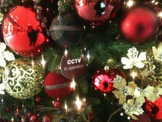 canary wharf christmas The Canary Wharf CCTV Christmas Tree