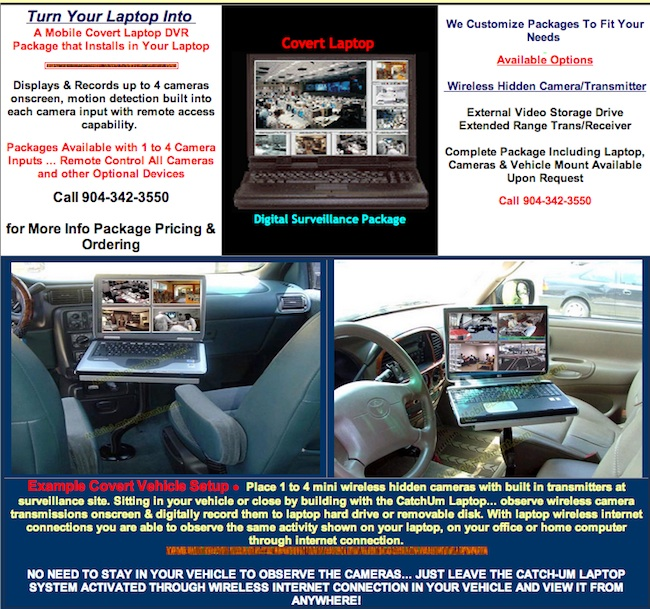 car computer Turn your car into a television studio and office