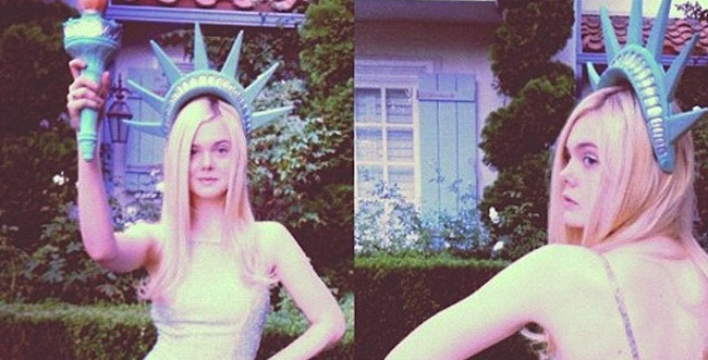Daily Mail pervs at 14 year old Elle Fanning