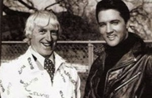 elvis presley jimmy savile  300x194 BBC want you to dress as paedophile Elvis Presley to celebrate Children in Need